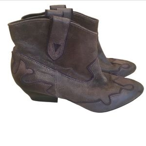 Isola Western Ankle Boots